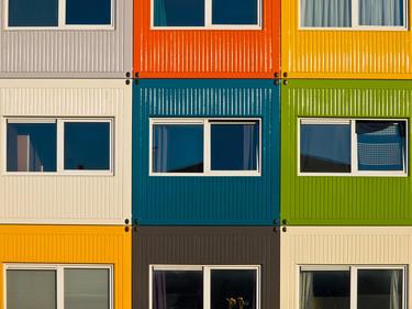 facciata multicolor
